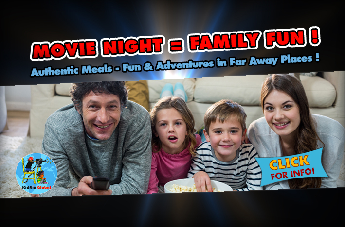 Movie Night = Family Fun