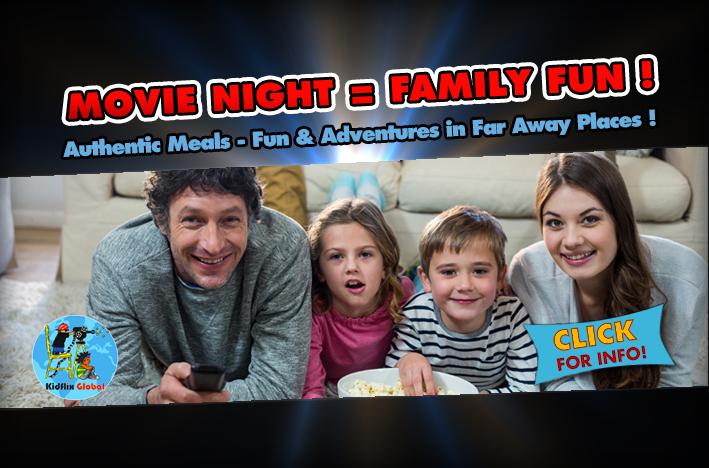 Movie Night = Family Fun